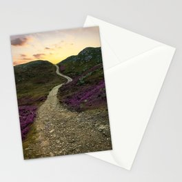 Sunset at Skye Island Stationery Cards