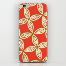 Christmas Tapestry: Red iPhone & iPod Skin