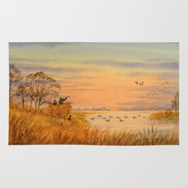 Duck Hunters Calling Rug