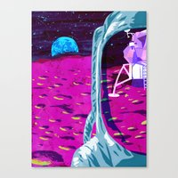 apollo Canvas Prints featuring Apollo by Ben Walker