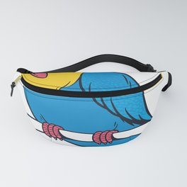 parrot Draw Fanny Pack