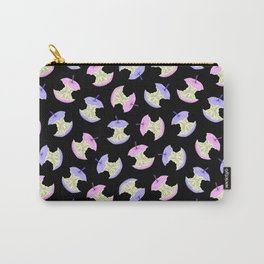 Neon apples black Carry-All Pouch