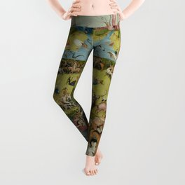 The Garden Of Earthly Delights (Extreme High Quality) Leggings