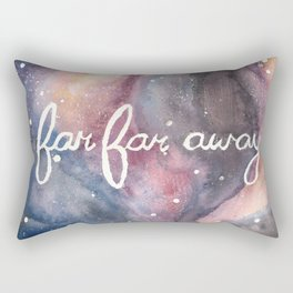 Far Far Away Rectangular Pillow
