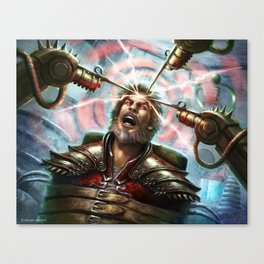 Tortured Mage Canvas Print