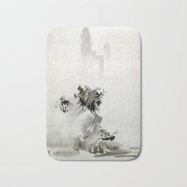 Sesshu Toyo Haboku-Sansui Landscape Bath Mat