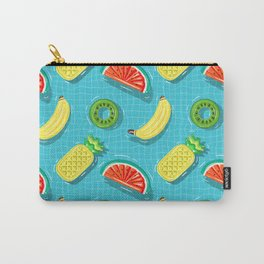 Pool Party pineapple, watermelon,banana,kiwi Carry-All Pouch