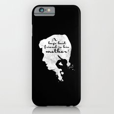 Boy's best friend – Norman Bates Psycho Silhouette Quote iPhone 6s Slim Case