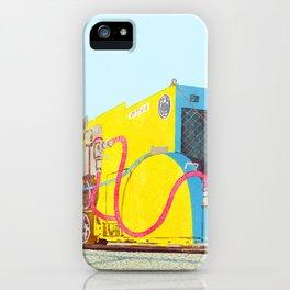 The asphalt cutter iPhone Case