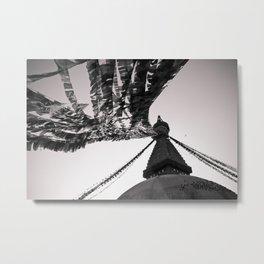 Boudhanath Metal Print