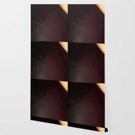 Abstract Burgundy Shades with Beige Corner.   Like painted on canvas. Wallpaper