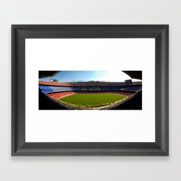 FC Barcelona - Nou Camp Framed Art Print