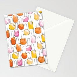 Nail Polish   Orange Palette Stationery Cards