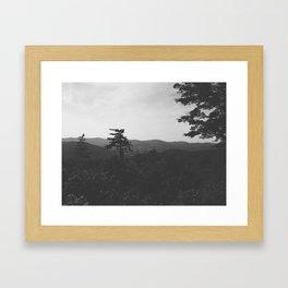 Western Massachusetts Mountain Scape Framed Art Print