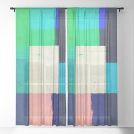 Community India Sheer Curtain