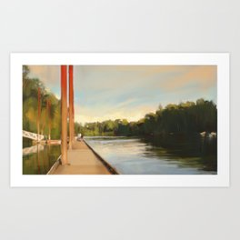 Advance/Retreat Art Print
