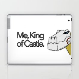 Me, King of Castle. Laptop & iPad Skin