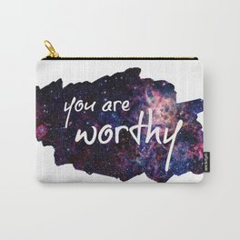 You Are Worthy - Galaxy Carry-All Pouch