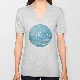 Seas The Day Unisex V-Neck