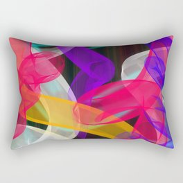 Bam Squiggle Rectangular Pillow
