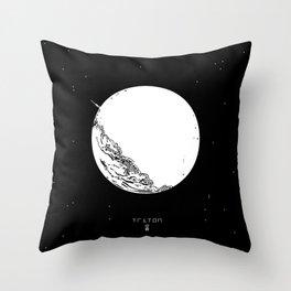 TRITON Throw Pillow