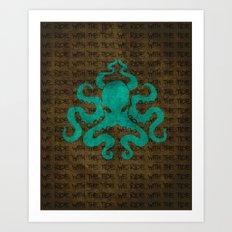 Uma Tide Art Print