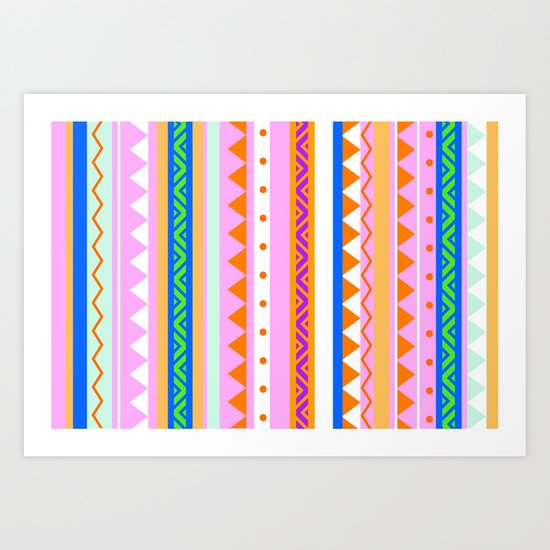 PLAYFUL -ORENDA- Art Print