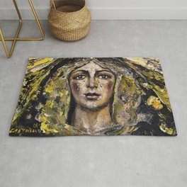 Macarena of mourning Rug