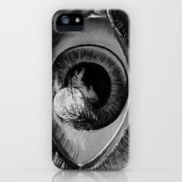Moon Eyed iPhone Case