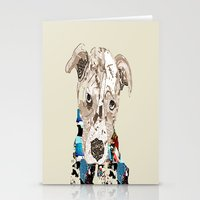 pit bull Stationery Cards featuring a pit bull day by bri.buckley