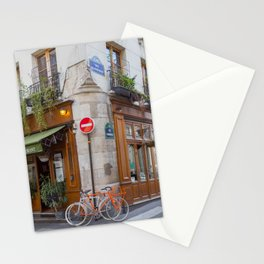 Cute Corners of Paris Stationery Cards