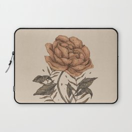 Peony and Ferns Laptop Sleeve