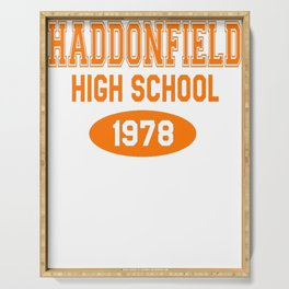 Haddonfield High School 1978 Serving Tray