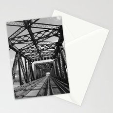 Train Bridge 3 - B&W Stationery Cards