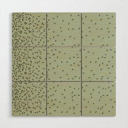 ANTS GREEN (BIG RUG) Wood Wall Art