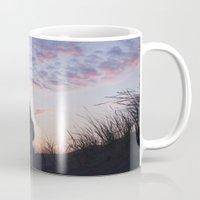 sunset Mugs featuring Sunset  by Maria Heyens