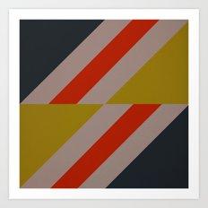 Modernist Geometric Graphic Art Art Print