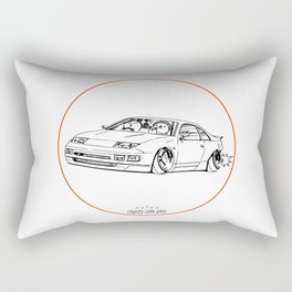 Crazy Car Art 0216 Rectangular Pillow