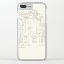old Cuenca Clear iPhone Case