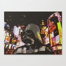 Times Square unexpected visitor Canvas Print