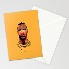 Lucas Radebe Portrait - Leeds United Legend Stationery Cards