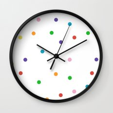 Candy Spots Wall Clock