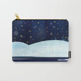 A Starry Winter's Night Carry-All Pouch