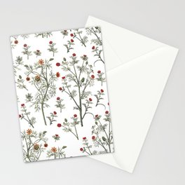 litlle flowers Stationery Cards