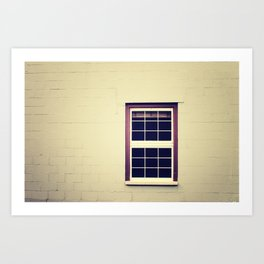 Purple Window Art Print