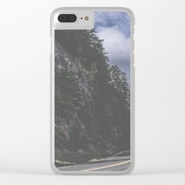 Fall on the Ridge Clear iPhone Case