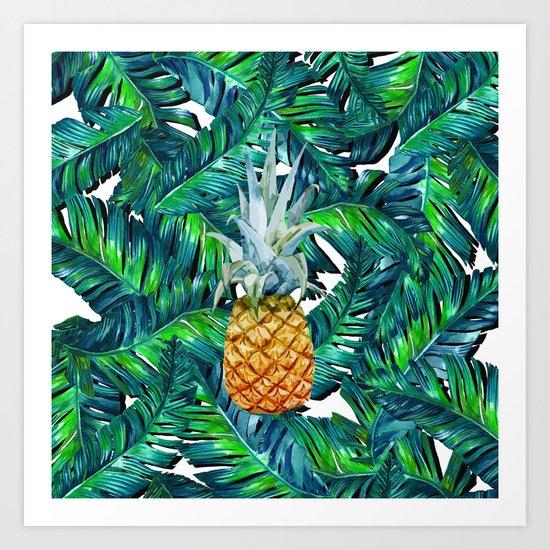 pineapple 2 Art Print