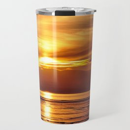 sunset at another place Travel Mug