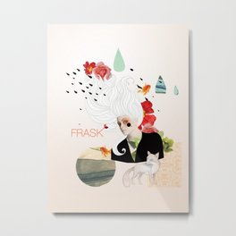 FRASK Collage Metal Print