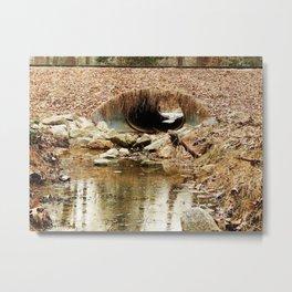 Quiet waterway Metal Print